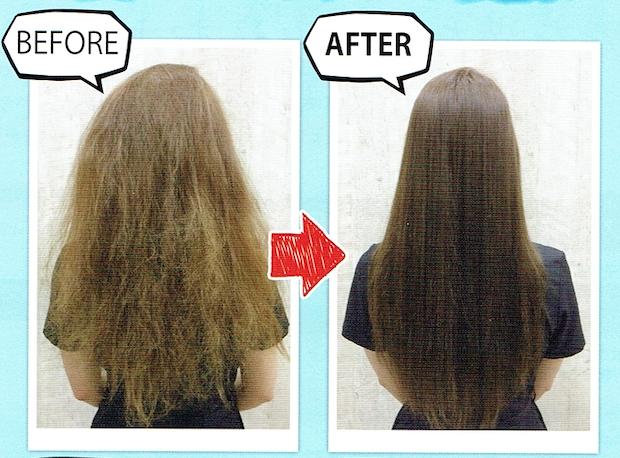 1回で髪のツヤとまとまりを手に入れるには…